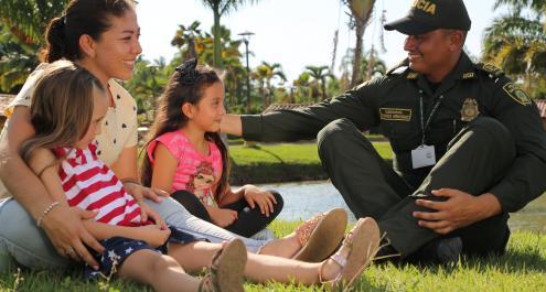 Misión-Bienestar Social de la Policía Nacional