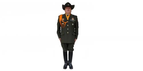 Uniforme de los Carabineros de la Policía Nacional-No. 3