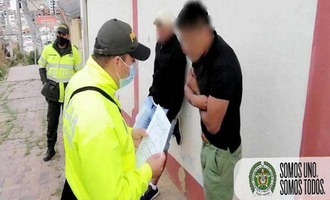 Desarticulación grupo delincuencial Los Fantasmas