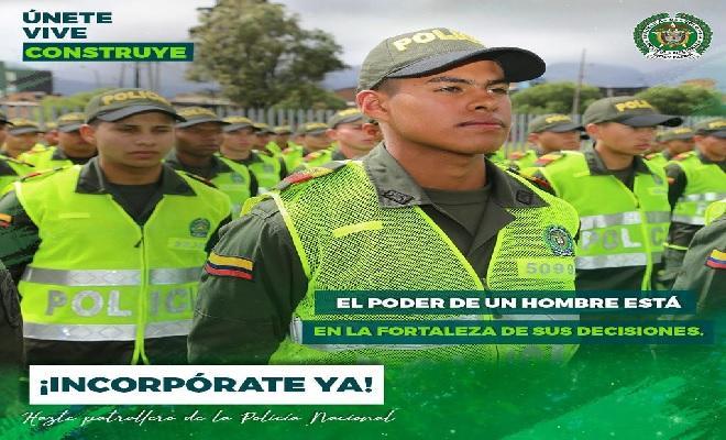 Resuelva su situación militar en la policía nacional