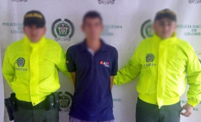 Capturado hombre por el delito de homicidio y porte ilegal for Interior y policia porte y tenencia