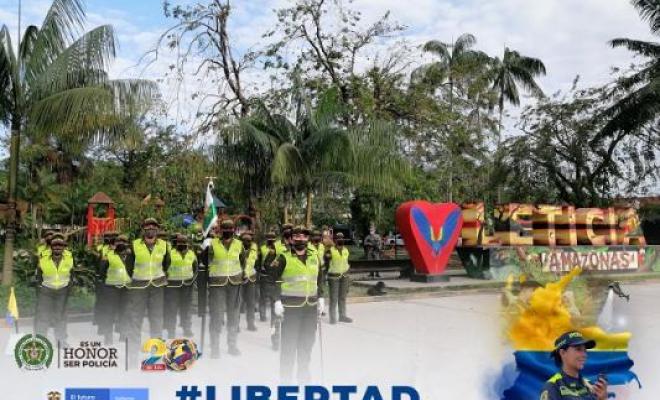 Leticia conmemora los 211 años de grito de independencia