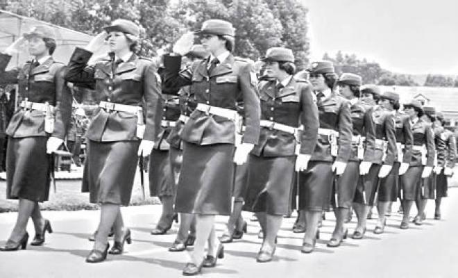 En 1953 Se Creo La Policia Femenina Comenzaron 46 Mujeres Y Ya Van