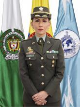 Coronel María Emma Caro Jefe Comunicaciones Estratégicas