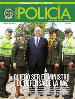 Portada de la Revista de la Policía